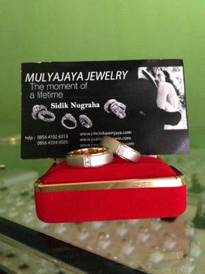 cincin pernikahan spesial